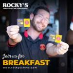 Get your breakfast card